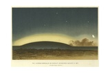 The Aurora Borealis as Seen at Edinburgh  6 August 1871