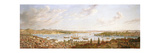 A View of Constantinople Overlooking the Bosphorous  1770