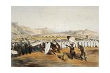 Umpanda Inspecting Troops at Nonduengi  1849