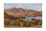 Skiddaw and Keswick from Brandelhow Park  Lake District