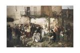 News of the Peace of Villafranca  1862
