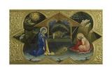 Nativity  Scene from Predella of Coronation of Virgin