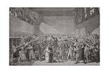 Oath Taken at the Jeu De Paume  20 June 1789  French Revolution