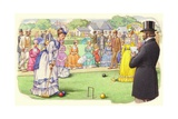 A Game of Croquet at the All-England Club at Wimbledon