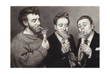 The Goons: Spike Milligan, Peter Sellers, Harry Secombe Giclée par Pat Nicolle