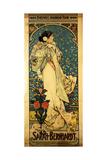 A Poster for Sarah Bernhardt's Farewell American Tour  1905-1906  C1905