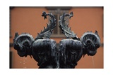 Sea Monsters Fountain  1629  Bronze