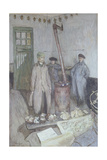 Interrogation of a German Prisoner by a French Officer  1917
