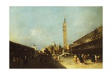 View of Piazza San Marco in Venice