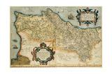 Map of Portugal  Theatrum Orbis Terrarum