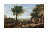 Landscape with David at the Cave of Abdullam  1658