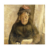 Portrait of My Grandmother  Michaud-Bonne Maman  1888
