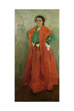 The Artist's Wife Dressed as a Spanish Woman  C1901