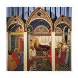 Triptych of the Nativity of the Virgin  1342