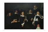 Regents of Old Men's Almshouse of Harlem  1664