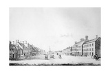 View of the Principal Street of Stockton in the County of Durham  1796