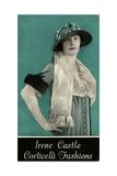 Advertisement for Irene Castle Corticelli Fashions  1925