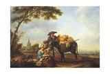 Return from Market  1785