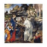 Apparition of Virgin to St Bernard