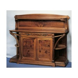 Art Nouveau Style Welsh Dresser  1902