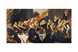 Banquet of Officers of Civic Guard of St George at Haarlem