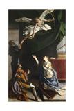 Saints Cecilia  Valerian  and Tiburcio  Circa 1620
