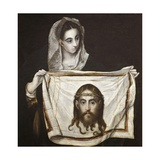 Saint Monica and Holy Face  1584-1594