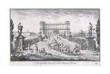 Villa Di Bella Vista  Plate 27  from 'Views   1757