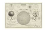 Cosmography  a Collection of Diagrams on Various Planetary Systems