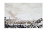 French Attack on City of Weimar  October 14  1806