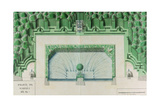 Ms 1307/47 Design for a Water Garden at Versailles