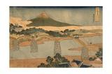 Kintai Bridge  Suwo Province  1827-1830