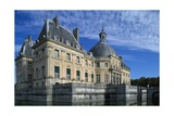 View of Chateau of Vaux-Le-Vicomte  1656-1661
