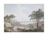 View of the Canton River  Near Whampoa  China  C1785-94
