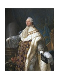 Louis XVI in His Coronation Robes