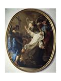 Ecstasy of St Catherine of Siena  1743