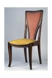 Art Nouveau Style Chair  Ca 1902