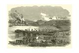 Building the Bridge at Fredericksburg  December 1862