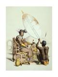Umpanda  King of the Amazulu  1849