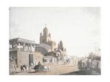 Street Scene  from 'Views in Calcutta'  1786-1788