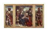 Triptych with Adoration of Magi  1515-1520