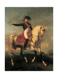 Equestrian Portrait of Napoleon I  1810