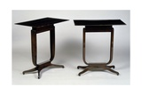 Art Deco-Style Tables  Bloch Model  1920-1940