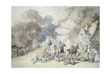 Going Out in the Morning  a Scene in Windsor Forest  C1801