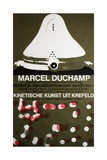 Poster for Marcel Duchamp at the Van Abbemuseum  Eindhoven  1965