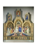 Coronation of the Virgin  1414