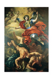 The Archangel Michael Defeating the Giants by Francesco Solimena