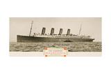 Cunard Line Promotional Brochure for 'Mauretania' C1930