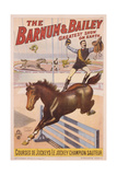 Poster Advertising the Barnum and Bailey Greatest Show on Earth  C1910