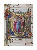 Initial Letter of Choral  Miniature